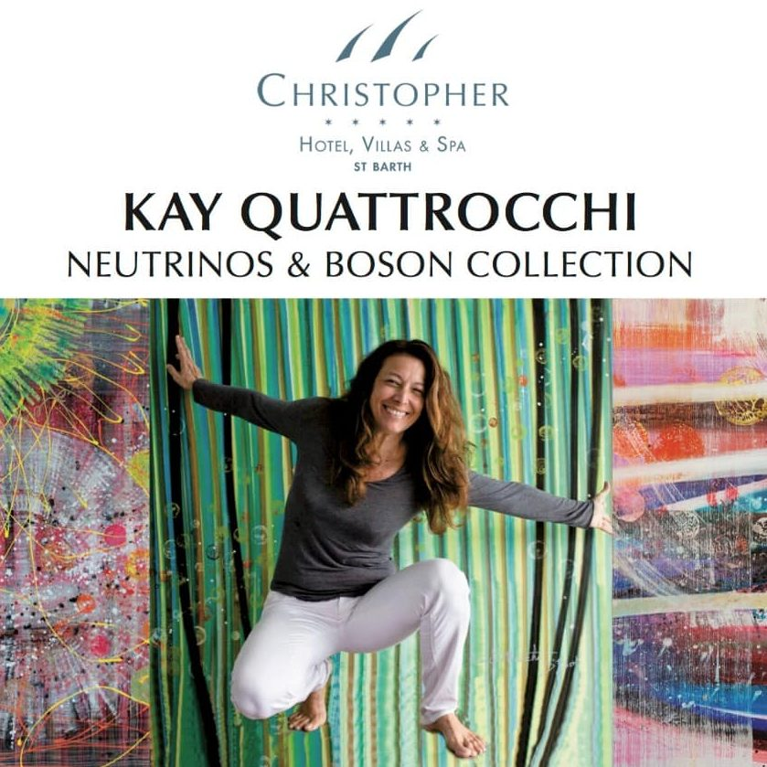 Solo Exhibition at the Christopher Hotel, St Barthélemy