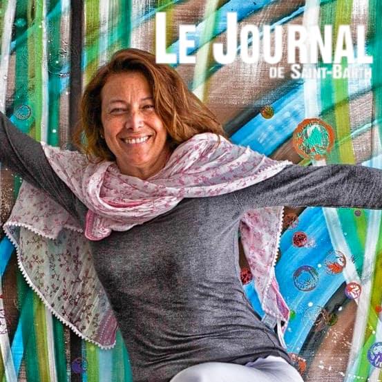 Rétrospective Kay Quattrocchi au Musée Territorial published in Le Journal de St Barth