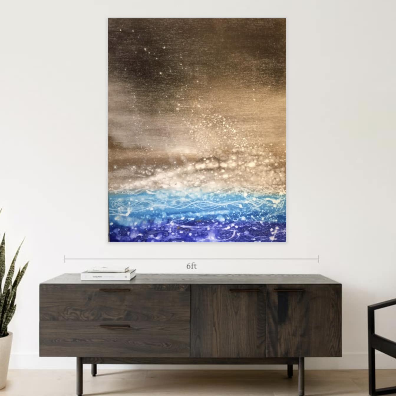 Two paintings available on Saatchi Art